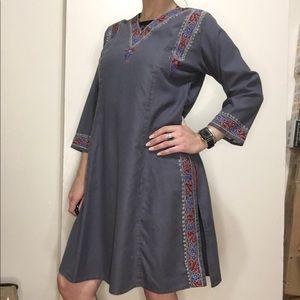 Vintage dashiki style dress